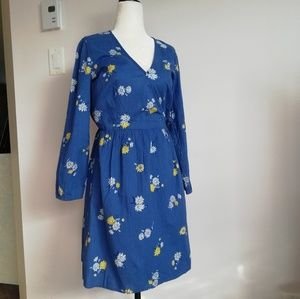 Wrap Summer Dress Old Navy Sizes Small and Medium